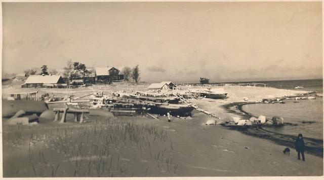 Põhjaküla rand 1930ndatel