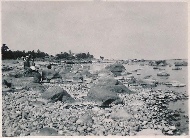 Põhjaküla rannas 1937